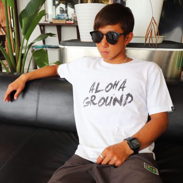 ALOHAGROUND TEE LATEST ITEM