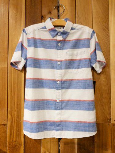 新学期に!ボーイズHurleyシャツ