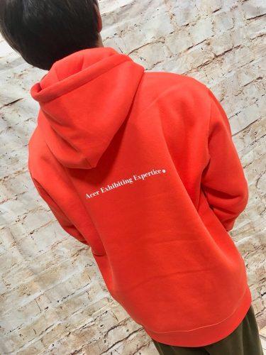 パーカーはこれがおすすめ!ACER EXHIBITING EXPERTISE DRY&Fleece hoodie