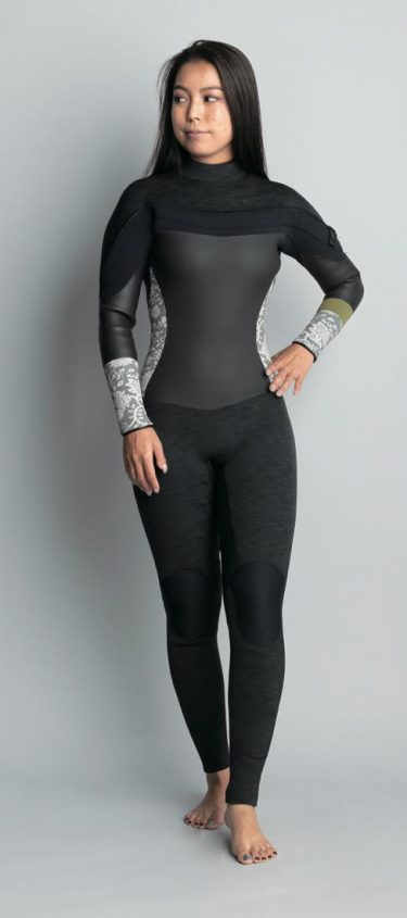 女の子におすすめ冬用ウェットスーツ REVO SOPHIA SHELL