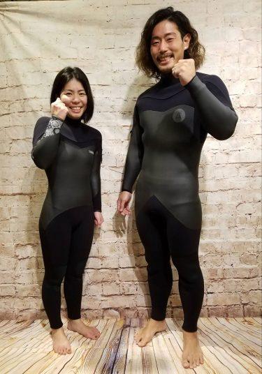 初めての冬サーフィンはこのウェットスーツで挑む!