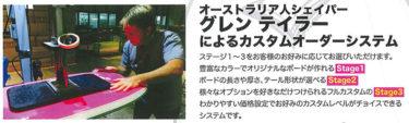 速報!最大1万円オフ!Vボディボードカスタムオーダーフェアはじまります!