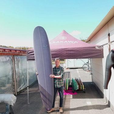 ARAKAWA Surfboardsのロングボード オーダーありがとうございます