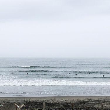 梅雨だけど波ある?