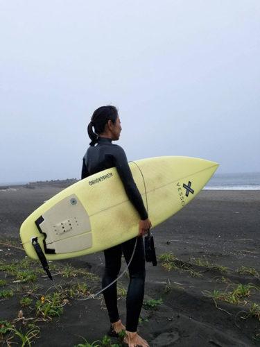 サーフィン頑張る人 応援します!