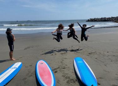 サーフィンの楽しさも難しさも