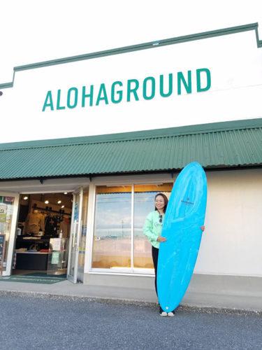初めてのMyボードはサーフィンの楽しさを教えてくれるAVIS🏄✨