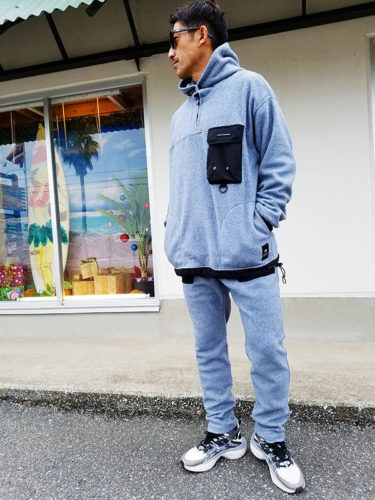お待たせしました!Ac_apparel新作 Polar Fleece セットアップ