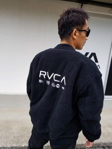 只者じゃないMA-1 by RVCA