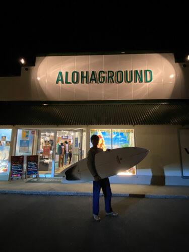 ハマってしまった新人サーファーのサーフボードはFIRECAT by ARAKAWA SURFBOARDS