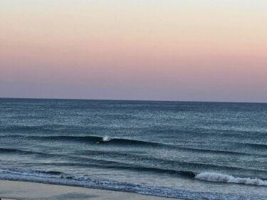 2月最初の週末の波は?