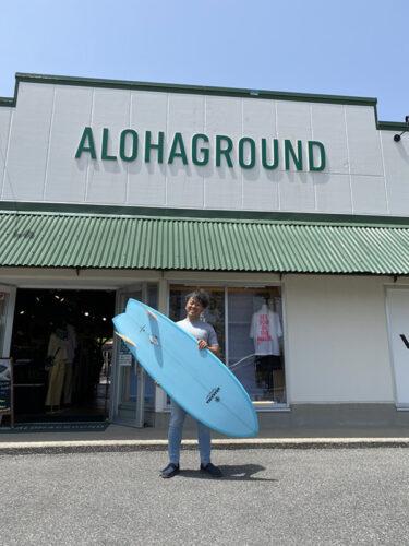オーダー!週1ペースじゃなくてもサーフィン楽しくなるサーフボード