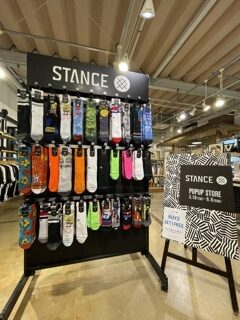 STANCE POP UP STORE OPEN!