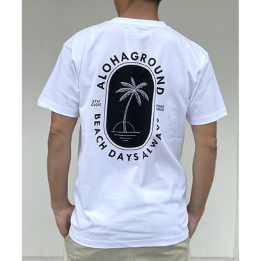ALOHAGROUND 限定 Tシャツ!
