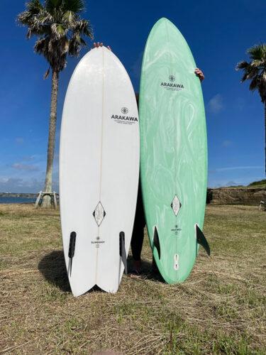 サーフィン楽しっ!何年経っても新しい発見ができる!相棒のサーフボードに秘密あり🔑